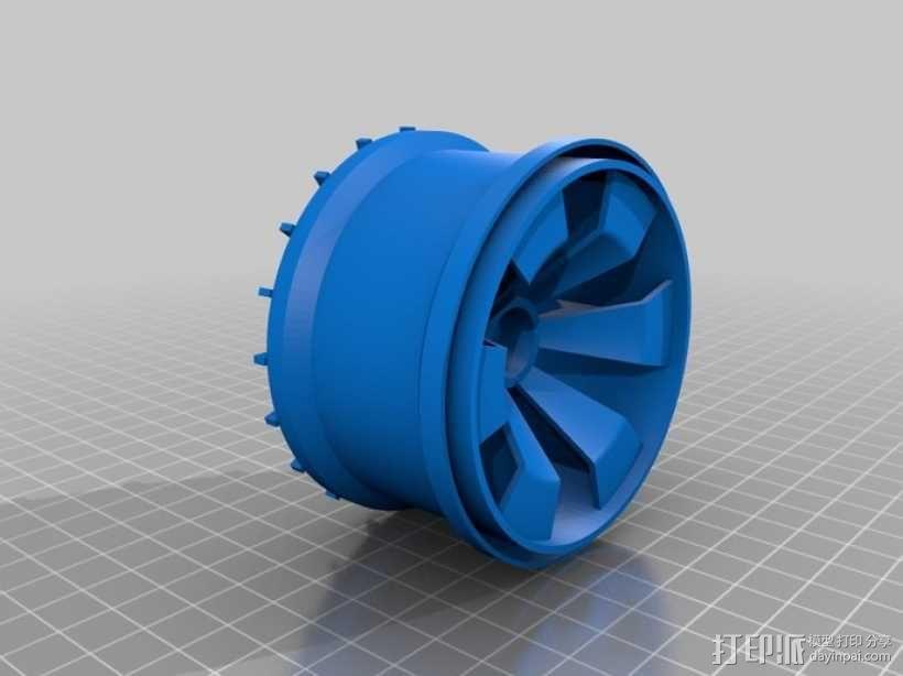 车轮 3D模型  图8