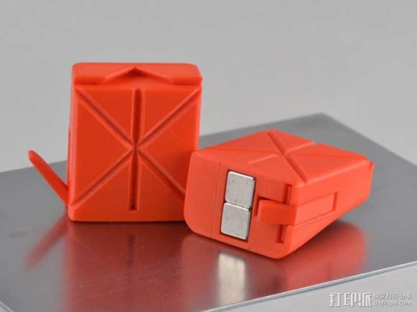 磁铁置物器 3D模型  图2