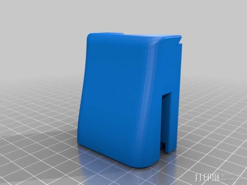 磁铁置物器 3D模型  图1