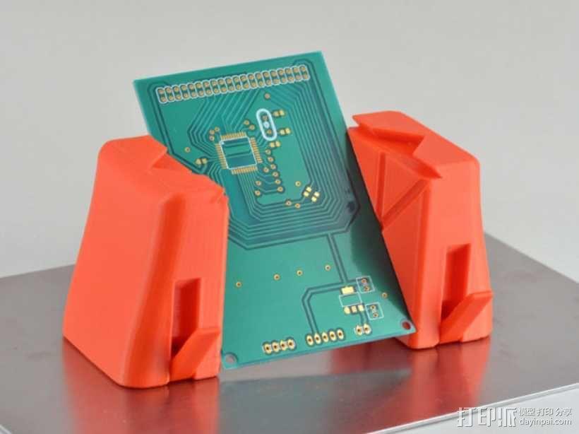 磁铁置物器 3D模型  图5