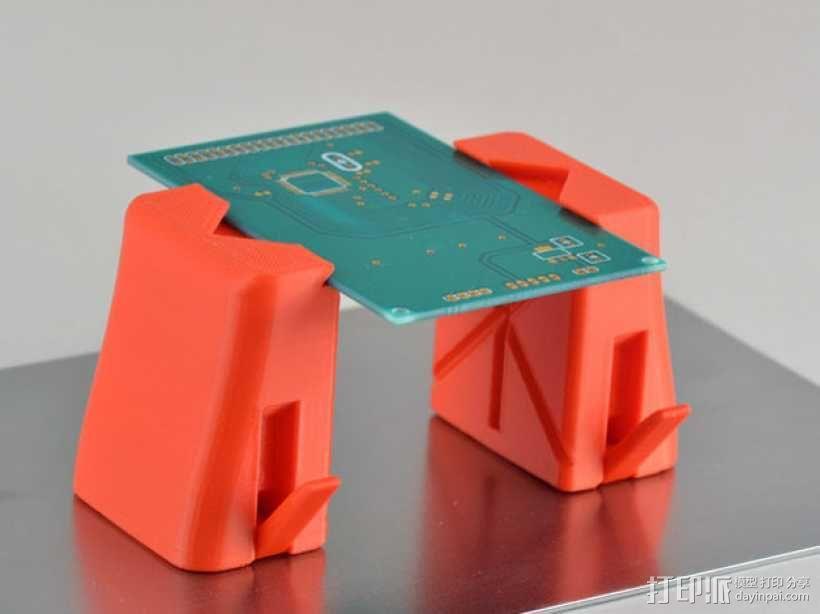 磁铁置物器 3D模型  图4