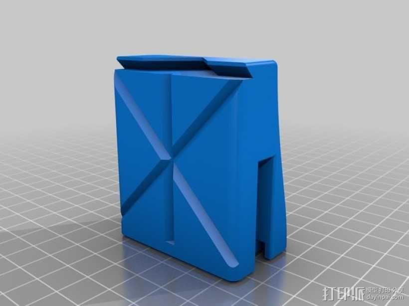 磁铁置物器 3D模型  图3