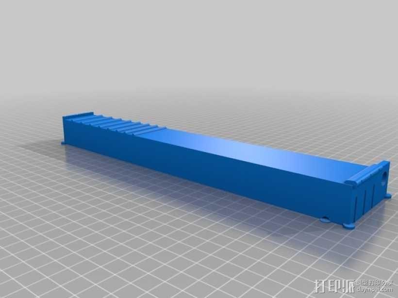电子乐器组件 3D模型  图1