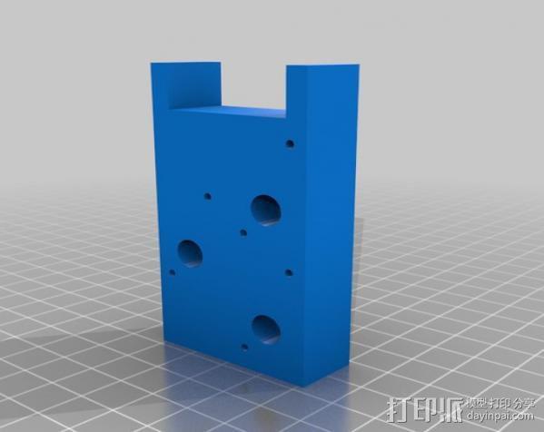 电子乐器组件 3D模型  图3