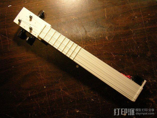 电子乐器组件 3D模型  图4