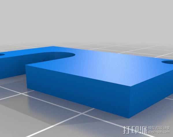 电子乐器组件 3D模型  图5