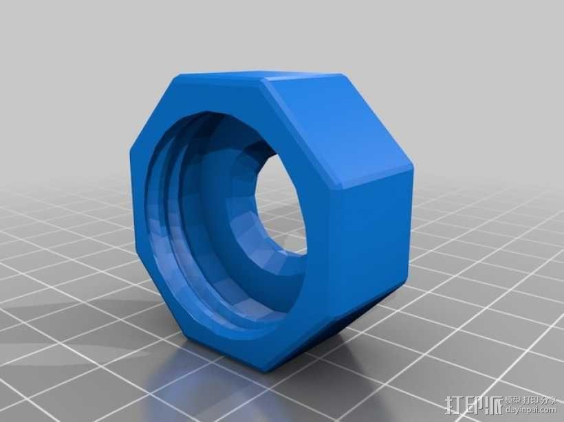GoPro固定旋转槽 3D模型  图7
