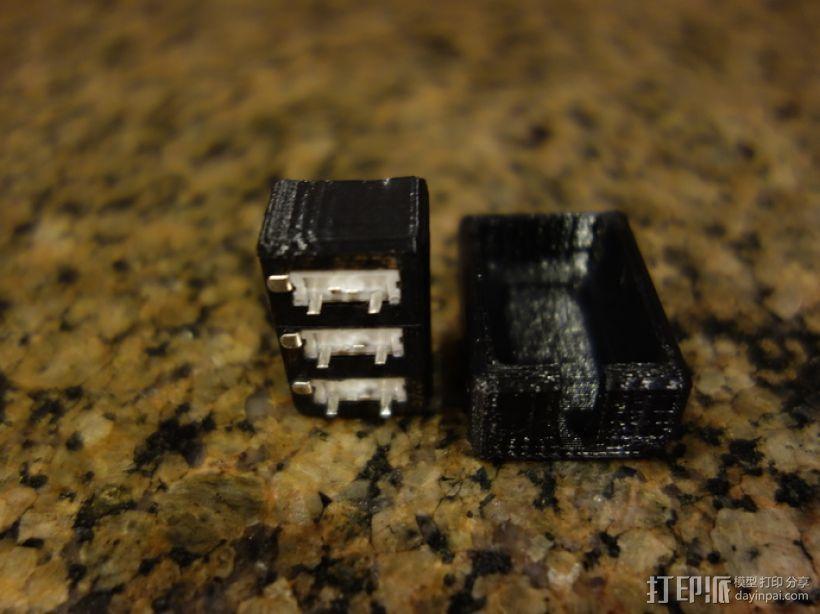 USB衔接器 3D模型  图3