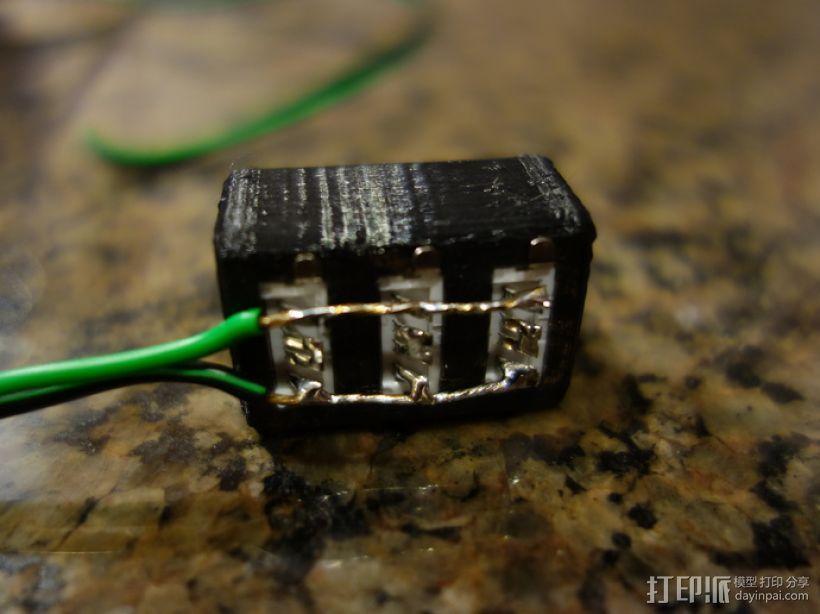 USB衔接器 3D模型  图4