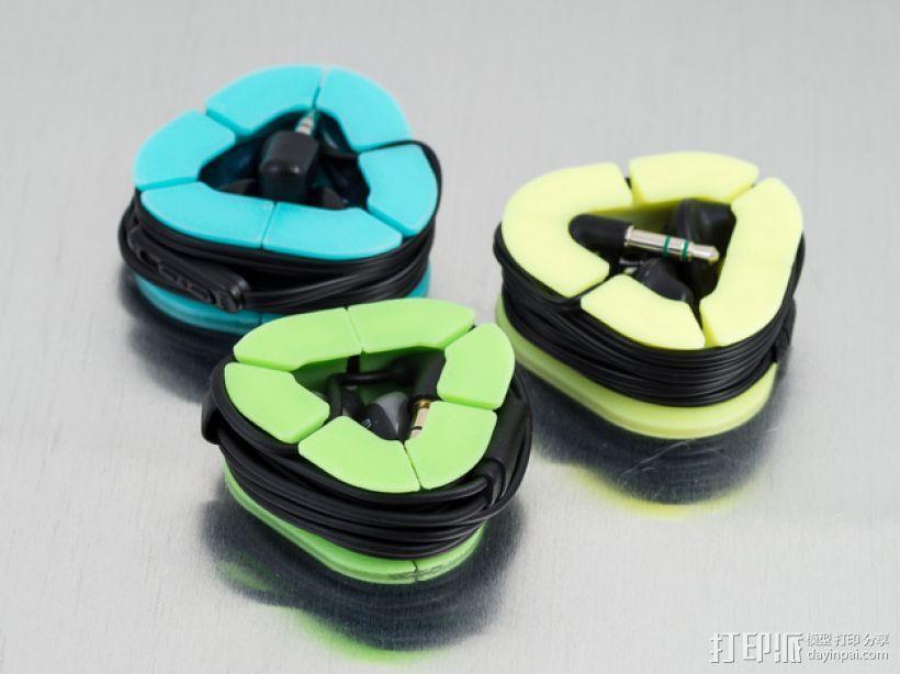 耳机收纳套 3D模型  图1
