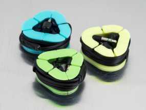 耳机收纳套 3D模型