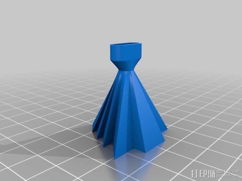 手机扩音器 3D模型  图4