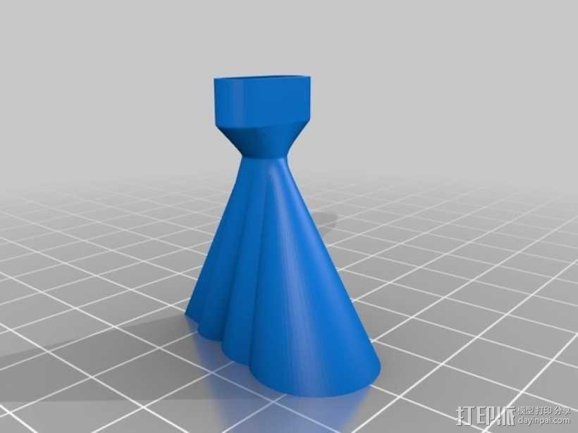 手机扩音器 3D模型  图5