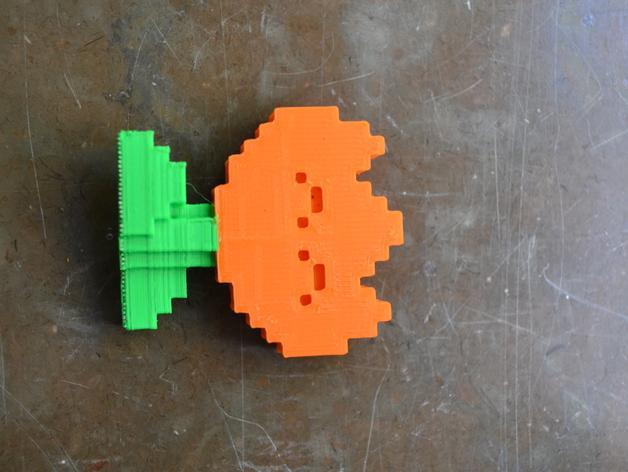 超级玛丽火焰花 3D模型  图4