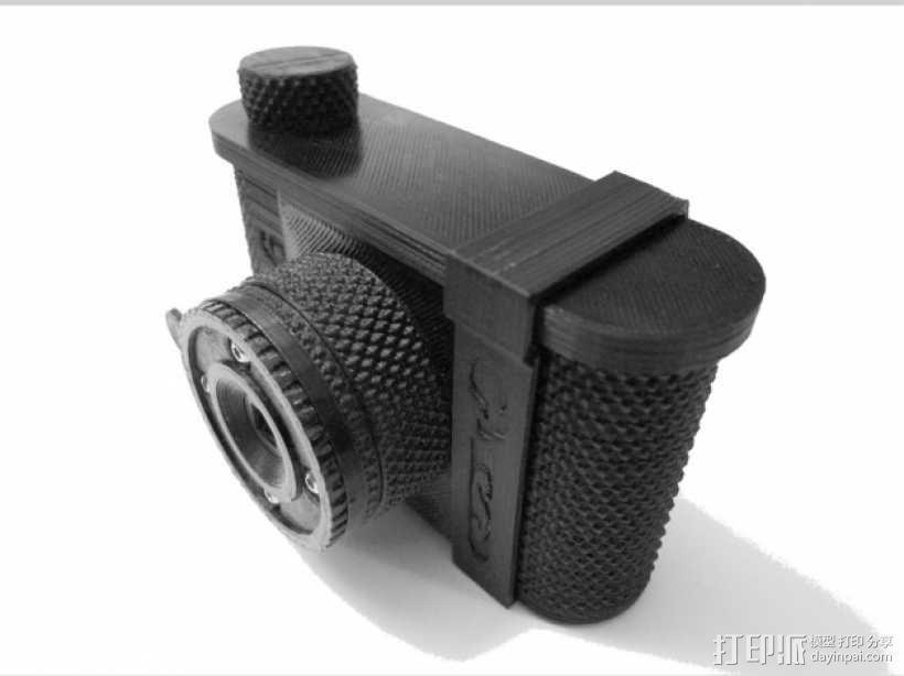 针孔照相机 3D模型  图1