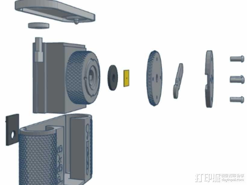 针孔照相机 3D模型  图23
