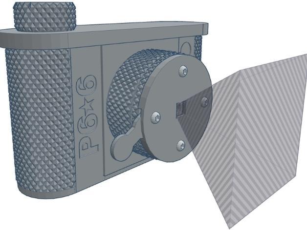 针孔照相机 3D模型  图26