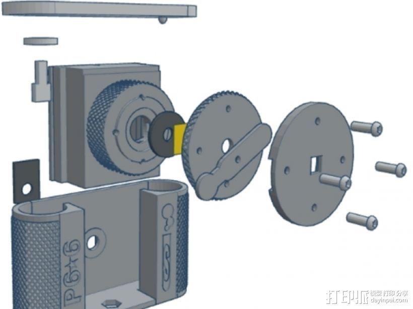 针孔照相机 3D模型  图25