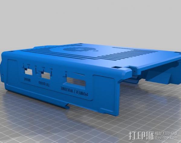 PHIL复古台式电脑/媒介中心 3D模型  图6