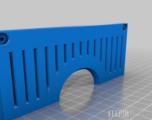 PHIL复古台式电脑/媒介中心 3D模型  图8