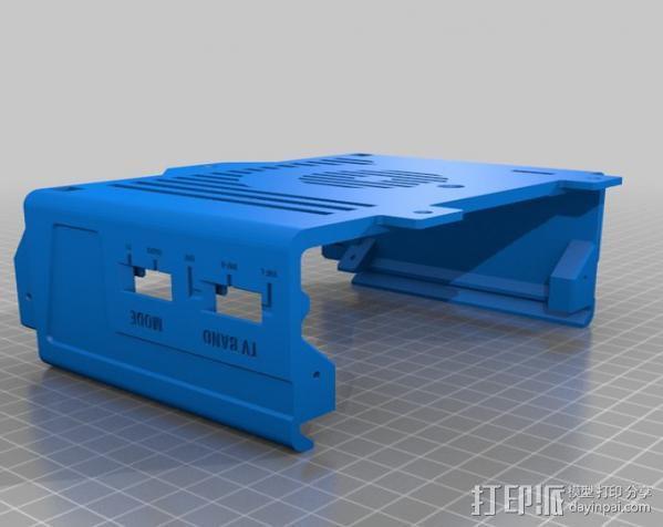 PHIL复古台式电脑/媒介中心 3D模型  图7