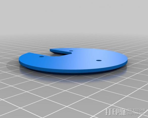 PHIL复古台式电脑/媒介中心 3D模型  图10