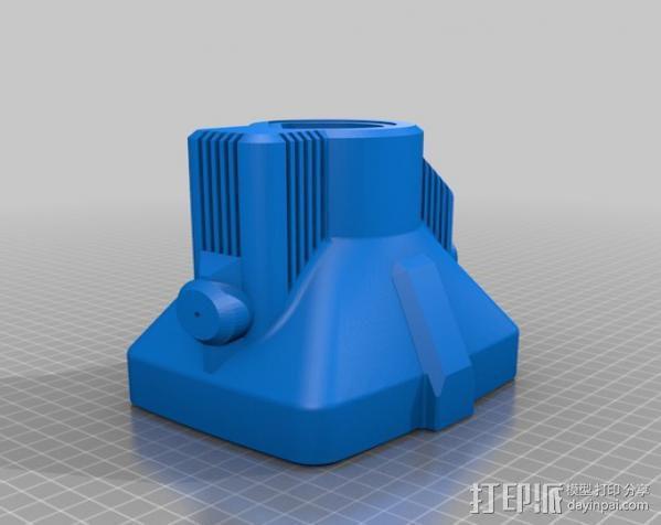PHIL复古台式电脑/媒介中心 3D模型  图17