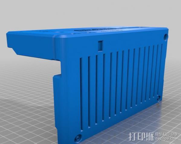 PHIL复古台式电脑/媒介中心 3D模型  图22