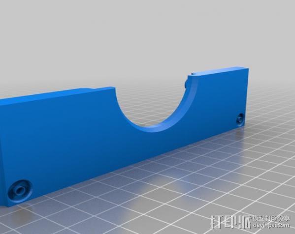 PHIL复古台式电脑/媒介中心 3D模型  图21