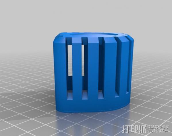 PHIL复古台式电脑/媒介中心 3D模型  图24