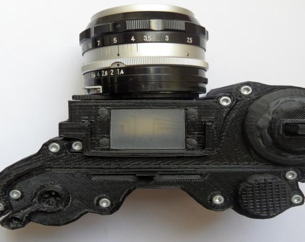 3D打印开源照相机 3D模型  图4