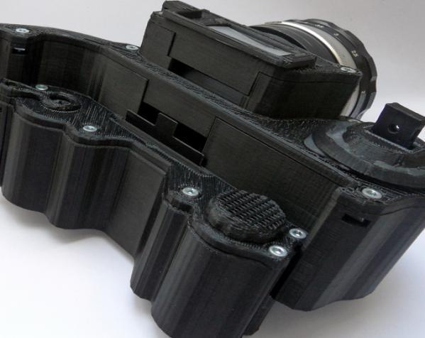 3D打印开源照相机 3D模型  图6