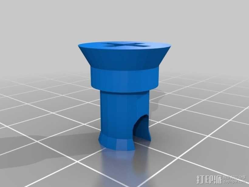 3D打印开源照相机 3D模型  图27