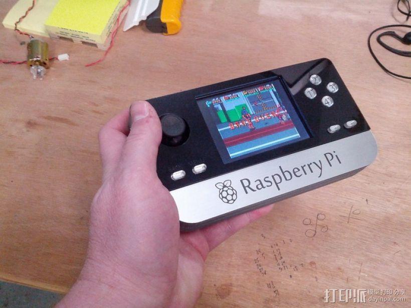 Raspberry Pi 迷你电脑 3D模型  图1