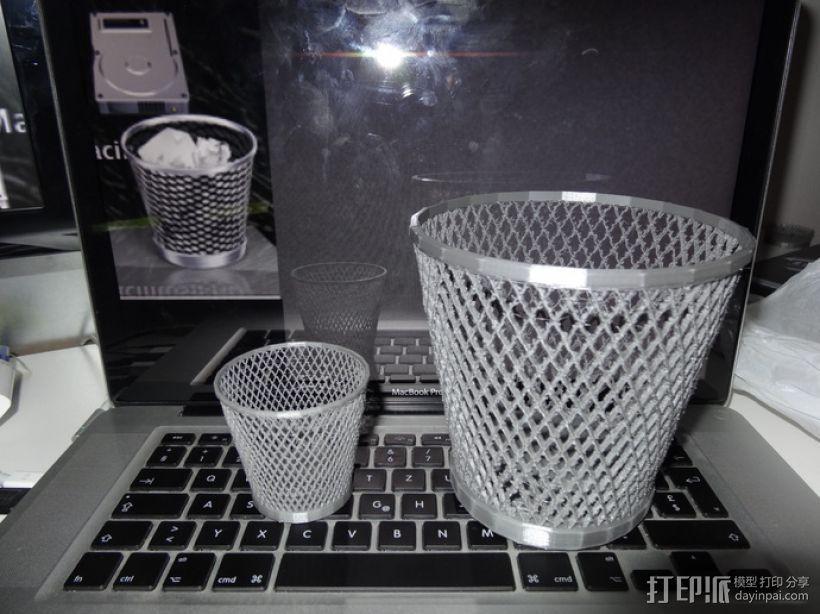 纸篓 3D模型  图4