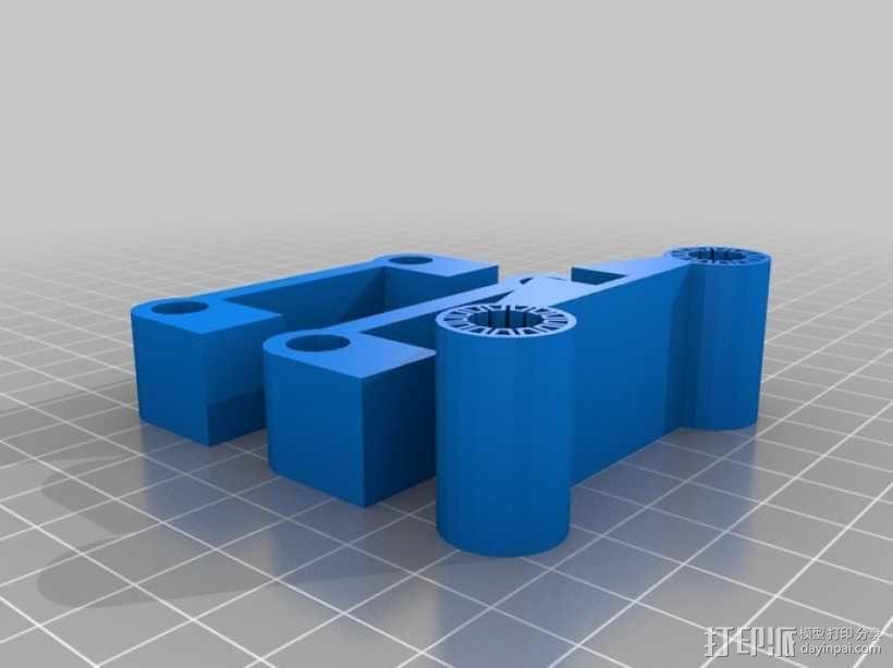 智能手机滑块 3D模型  图4