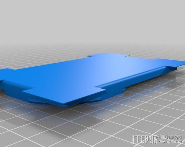 名片夹 3D模型  图3