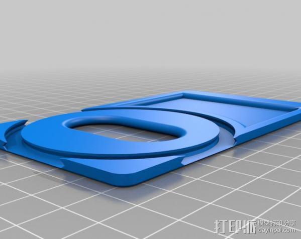 名片夹 3D模型  图5