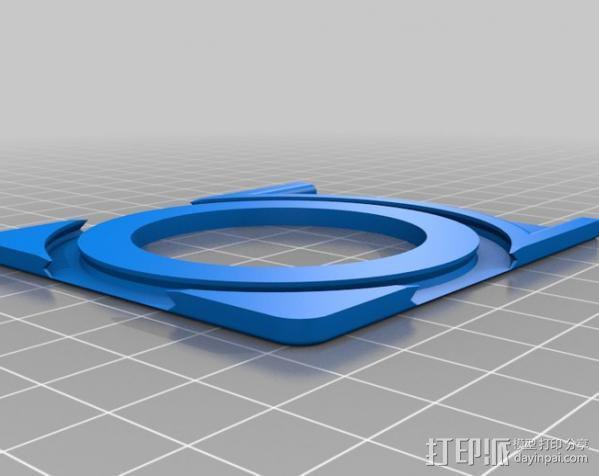 名片夹 3D模型  图6