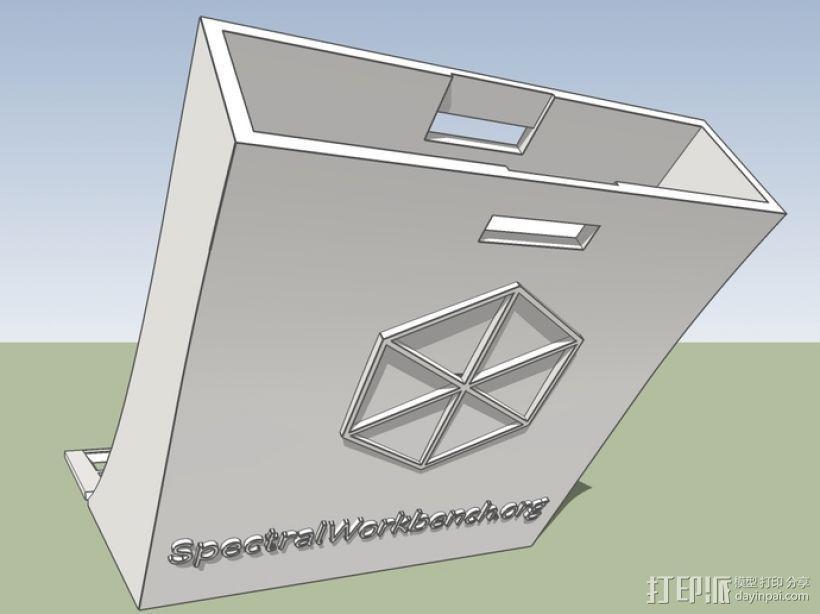 分光仪 3D模型  图1