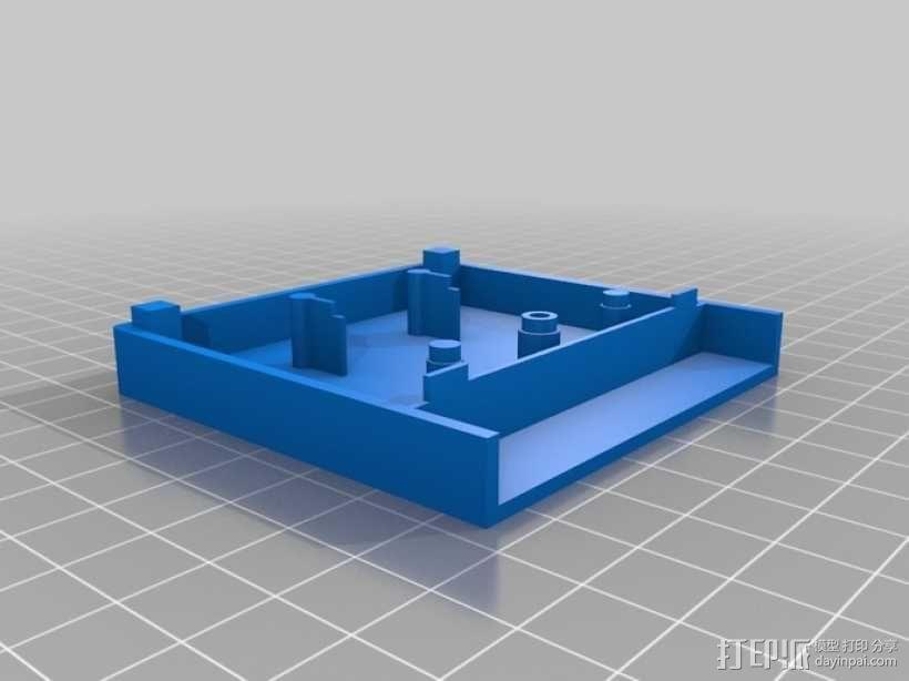 游戏机磁盘盒 3D模型  图1