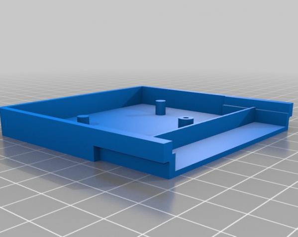 游戏机磁盘盒 3D模型  图2