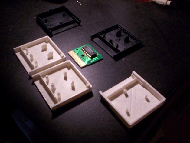 游戏机磁盘盒 3D模型  图4