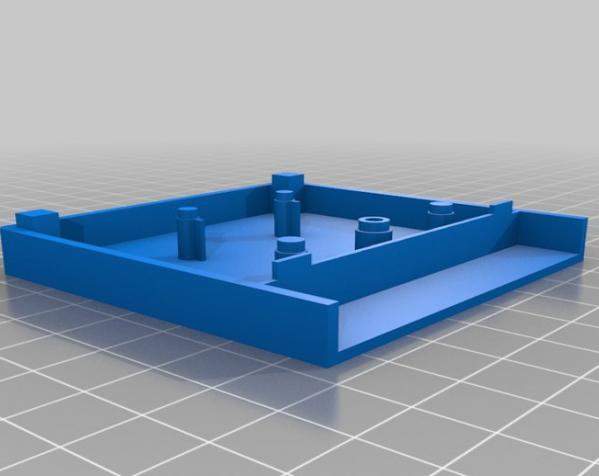 游戏机磁盘盒 3D模型  图3