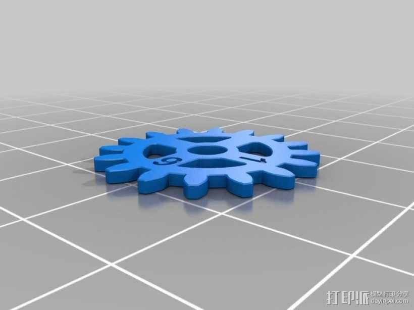 齿轮手机壳 3D模型  图9