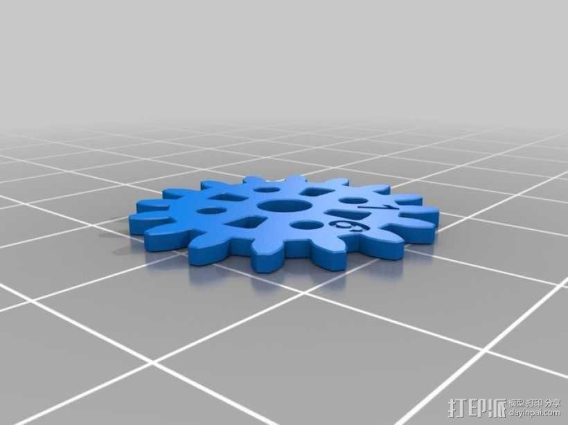 齿轮手机壳 3D模型  图10