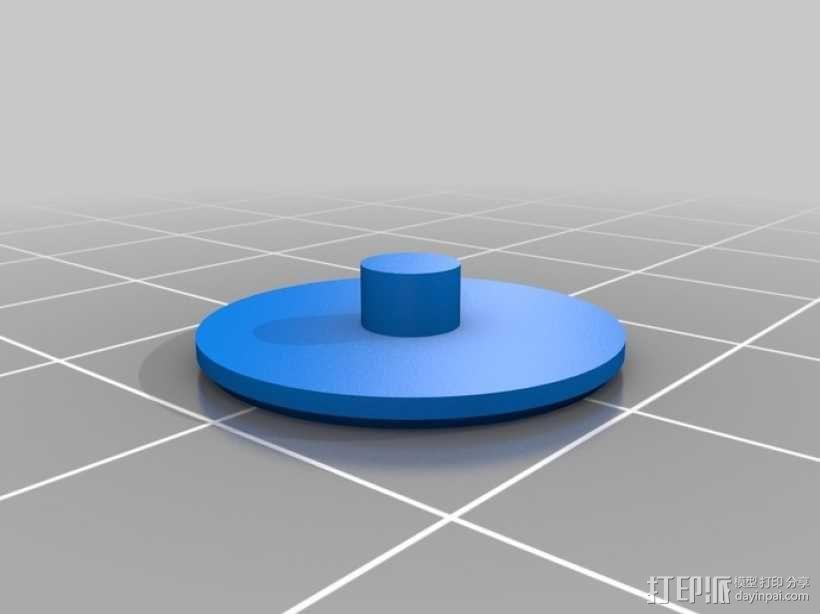 齿轮手机壳 3D模型  图12