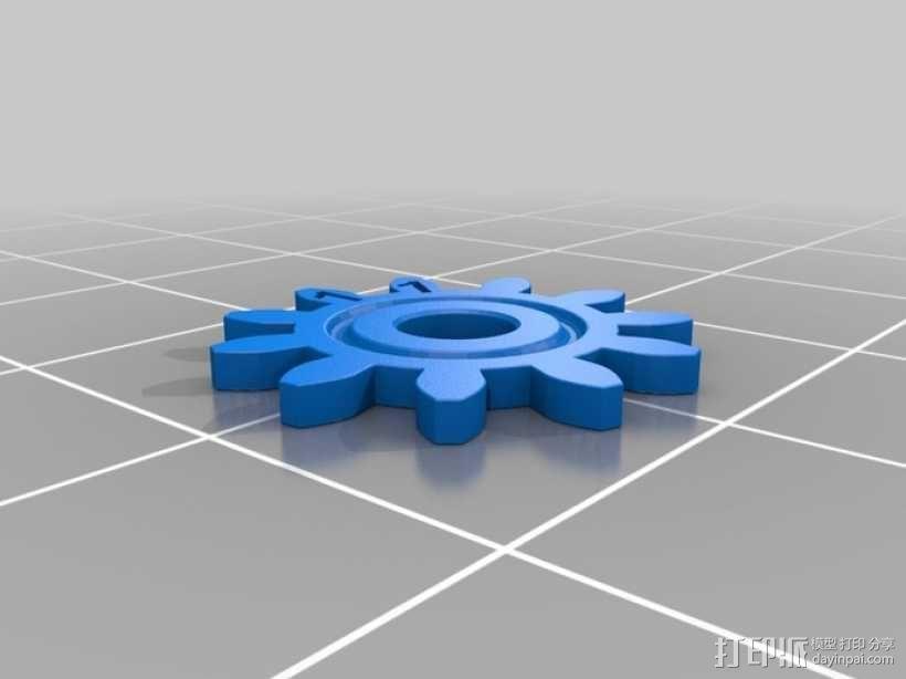 齿轮手机壳 3D模型  图11
