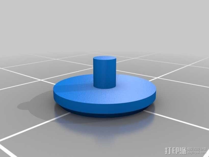 齿轮手机壳 3D模型  图13