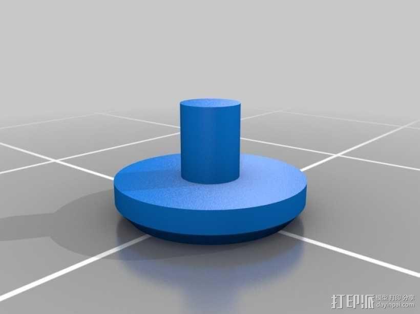 齿轮手机壳 3D模型  图14